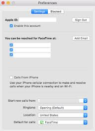Stop receiving calls and texts on your iPad Mac or iPod Touch