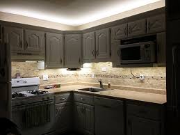 cool cabinet led lighting kitchen installing lights