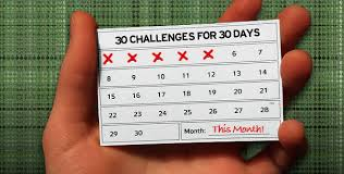 30 Challenges For Days