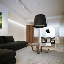 Red Tan And Black Living Room Ideas by Modern Minimalist Black And White Lofts