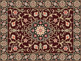 Brown And Grey Graphic Floral Modern Carpet Designs For Decorate Contemporary Living Room Flooring Accessories