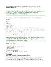 Christmas Tree Cataract Surgery by Previous Year Question On Cataract Based On Neet Pg Usmle Plab And U2026