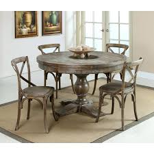 Round Dining Table With Chairs Sets Onrustic On Brilliant Rustic For 8 Rusti