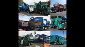 100 Garbage Truck Youtube LA CityCounty Compilation YouTube