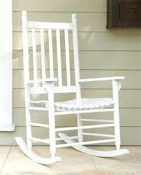 Wayfair Rocking Chair Uk by White Wooden Rocking Chair White Mission Patio Rocker Wooden