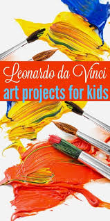 Leonardo Da Vinci Art Projects For Kids