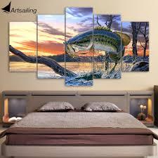 Full Image For Fish Bedroom Decor 44 Ideas Aliexpresscom Buy Hd Printed