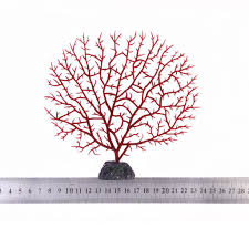 Coral Colored Decorative Items by Aquarium Artificial Red Coral Underwater Plants Ornament