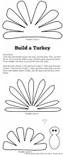 Pumpkin Carving Stencils Printable by Cute Turkey Craft W Free Printable Template Planning Playtime