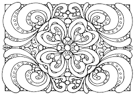 Free Coloring Page Adult Patterns Zen With Plant