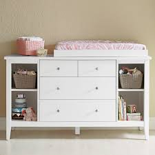 small wood baby changing table dresser organization with drawer