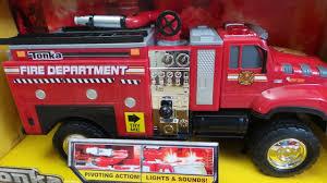 100 Tonka Mighty Motorized Fire Truck Latest 2014 TONKA Tough Cab Engine Pumper Toy