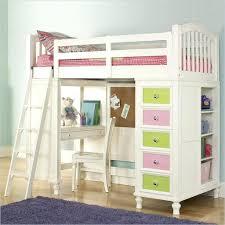 Loft Beds Wood Loft Bed With Desk 3 2 1 Beds Full And Dresser