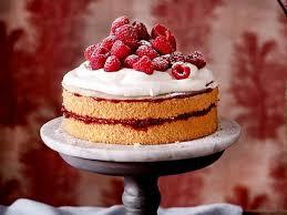 himbeer mandel torte