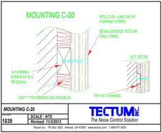 Tectum Ceiling Panels Sizes by Tectum Standard Interior Acoustic Wall Panels Custom Shapes