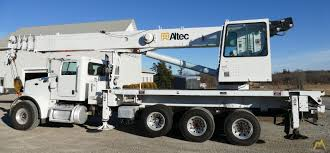 100 Altec Boom Truck AC38127S 38ton Crane On Peterbilt 365 SOLD S