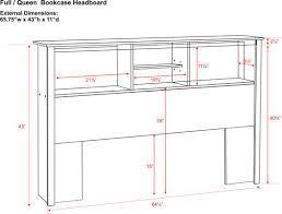Furniture King Size Headboard Diions With Queen Dimensions