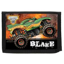 100 Madusa Monster Truck Toy Jam Look Out Boys Black Sports Jersey Jam