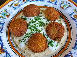 Falafel Is A Traditionally Arab Food The Word May Descend From Arabic Falafil Plural Of Filfil Meaning Pepper