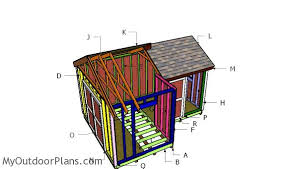 12x8 8x8 gable shed roof plans myoutdoorplans free woodworking