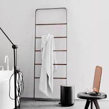 menu handtuch leiter norm bath schwarz badezimmer design
