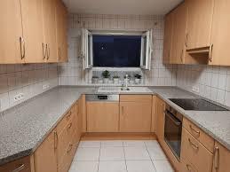 küche u form buche nobilia mit elektrogeräte küchenzeile