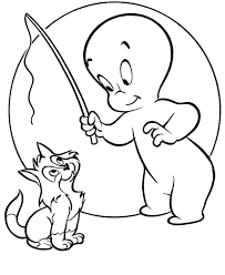 Free Printable Ghosts Ghouls Goblins Coloring