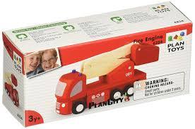 Amazon.com: PlanToys Fire Engine: Toys & Games