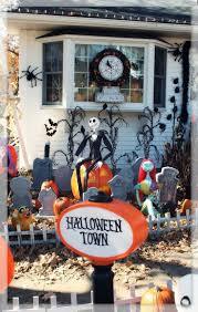 Nightmare Before Christmas Halloween Decorations Ideas by 72 Best Nightmare Before Christmas Yard Images On Pinterest