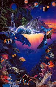 100 Christian Lassen Prints 40366379 Best 21 Our World By Riese Limited
