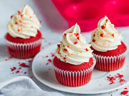 velvet cupcakes klassisches rezept mit frischkäse frosting