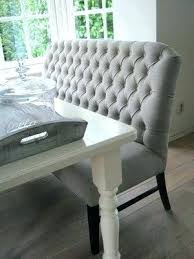 Table Bench With Back Dining Seat