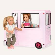 Our Generation Ice Cream Truck- Pink | 41406 | Kidstuff Barbie Camping Fun Doll Pink Truck And Sea Kayak Adventure Playset Rare 1988 Super Wheels With Black Yellow White Pin Striping 18 Wheeler Carrying A Tiny Pink Toy Dump Truck Aww Wooden Roses Flowers In The Back On Backgrou Free Pictures Download Clip Art Liberty Imports Princess Castle Beach Set Toy For Girls Trucks And Tractors Massagenow Sweet Heart Paris Tl018 Little Design Ride On Car Vintage Lanard Mean Machine Monster 1984 80s Boxed Beados S7 Shopkins Ice Cream Multicolor 44 X 105 5 10787 Diy Plans By Ana Handmade Ashley