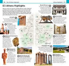 Athens Travel Brochure Booktopia Dk Eyewitness Top 10 Guide Templates
