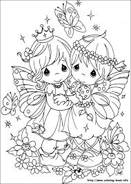 Free Coloring Precious Moments Pages With On Book