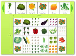 Ve able Gardening Plans Designs Worksheets Planting Guide