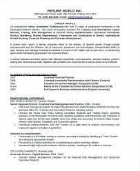 Mortgage Banker Resume Samples Banking Free Word Documents Download Investment Manager