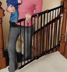 Angle Mount Safeway ® Diy Bottom Of Stairs Baby Gate W One Side Banister Get A Piece The Stair Barrier Banister To 3642 Inch Safety Gate Baby Install Top Stairs Against Iron Rail Youtube Diy For With Best Gates For Amazoncom Regalo Of Expandable Metal Summer Infant Universal Kit Walmart Canada Proof Child Without Drilling Into Child Pictures Ideas Latest Door Proofing Your Banierjust Zip Tie Some Gates Works 2016 37 Reviews North States Heavy Duty Stairway 2641 Walmartcom