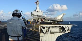 missions en irak et syrie pour le porte avions charles de gaulle