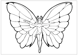 Free Printable Butterfly Pictures Cute Coloring Pages Page