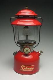 1972 coleman lantern converted to an electric indoor outdoor