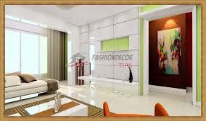 Creative Wall Designs With Paint Ideas And Living Room Decoration