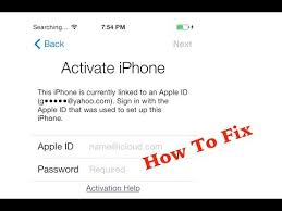 How To Fix iOS 7 Activation Lock Activate iPhone
