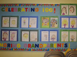 Kindergarten Christmas Door Decorating Ideas by 100th Day Bulletin Board And Decoration Ideas