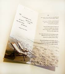 Unique Beach Wedding Invitations