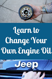 Learn How To Change Your Own Engine Oil! Become A