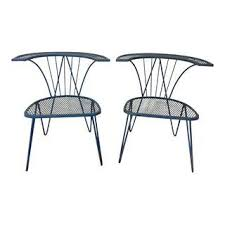 Salterini Iron Patio Furniture by Gently Used Salterini Decor Up To 70 Off At Chairish