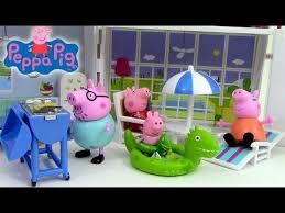 peppa pig maison de vacances villa playset