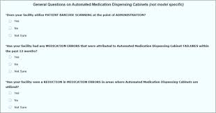 Automated Dispensing Cabinets Manufacturers by User Experience Automated Medication Dispensing Cabinets