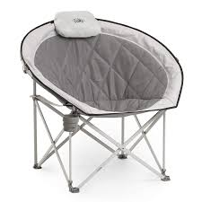CORE 40025 Equipment Folding Oversized Padded Moon Round Saucer Chair With  Carry Bag, Gray Round Chair Folding Campzio Bungee Red Cp0003 2016 Campzio 3 Piece Teak Wood Santa Bbara Patio Ding Set 36 Portable Toilet Seat For Camping And Hiking With Back Rest Nps Blow Molded Table 9 Pc Driftingwood Sheesham Chairs Living Room Of 2 Rich Walnut Finish Kawachi Small Perfect For Rv And Mobile Homes Heart Shaped Comfortable Light Flash Fniture Hercules Series Beige Metal Royalcraft Mhattan 4 Seater Armchairs Unicoo Bamboo With Two 5 Honey